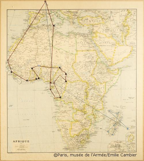 04/03-01/04/1953 : Voyage du général de Gaulle en Afrique