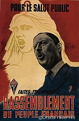 15/09/1948 : Ouverture de la campagne du timbre destinée à financer les activités du RPF