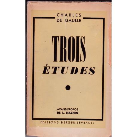 1945 : Trois études