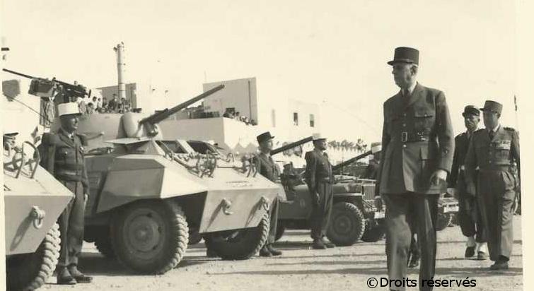 10-18/03/1957 : Voyage du général de Gaulle au Sahara
