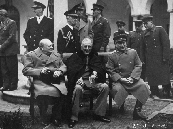 04/02/1945 : Ouverture de la conférence de Yalta