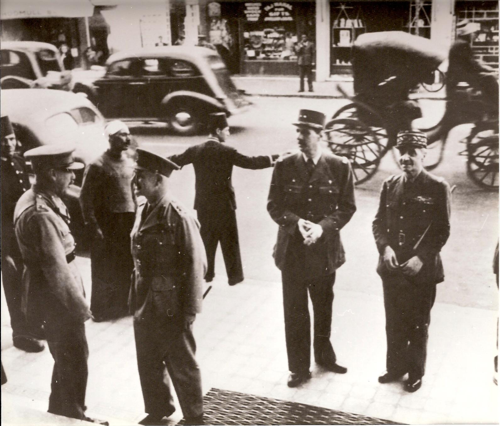 Le général de Gaulle au Caire, 1941