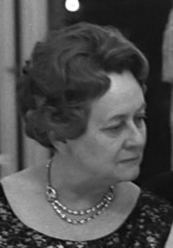 Yvonne DE GAULLE, née VENDROUX