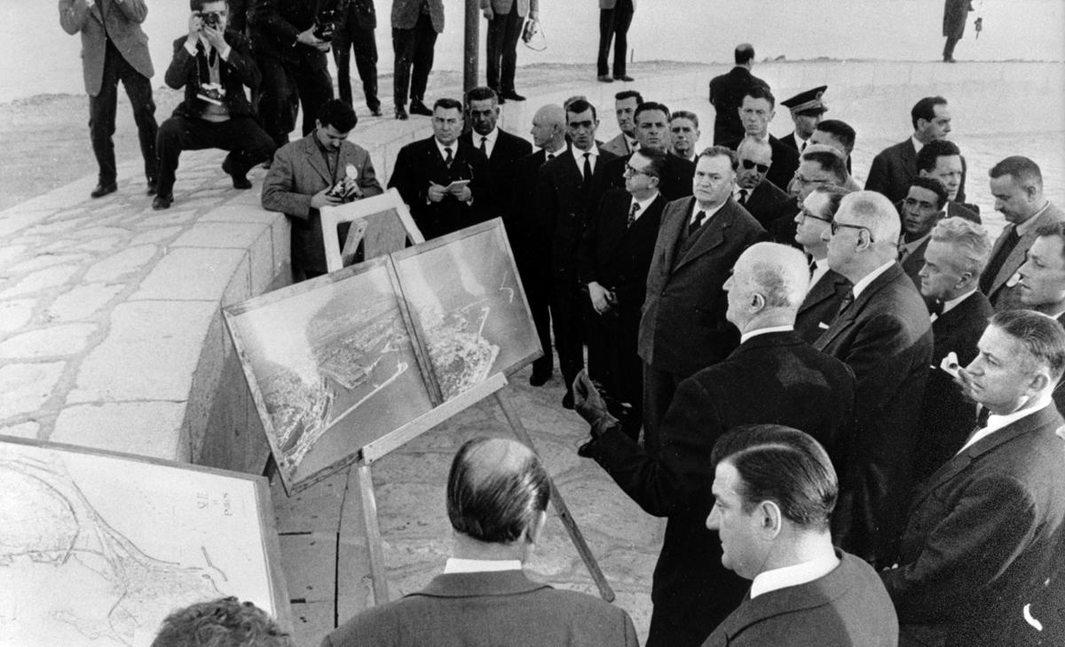 Le général de Gaulle et l'aménagement du territoire en Languedoc-Roussillon, 24 octobre 1967