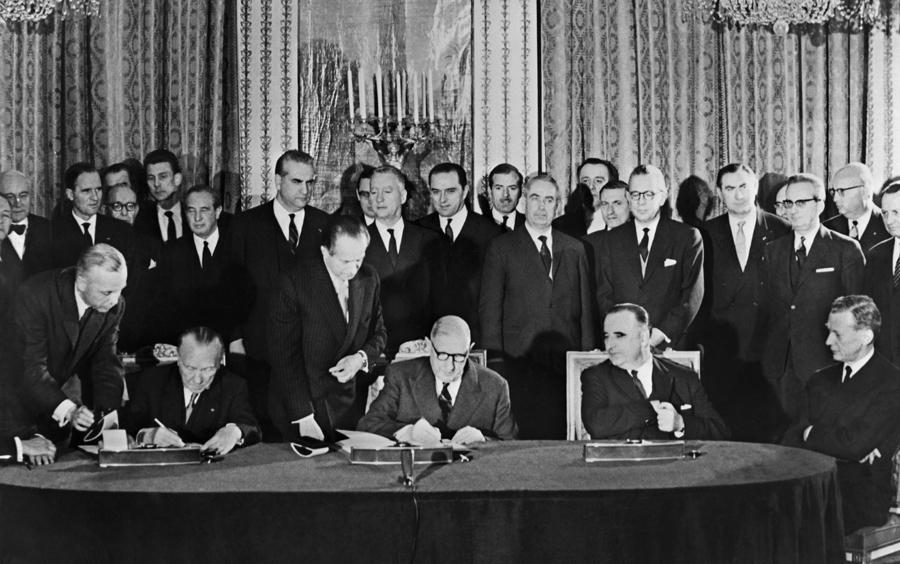Signature du traité de l'Élysée, 22 janvier 1963