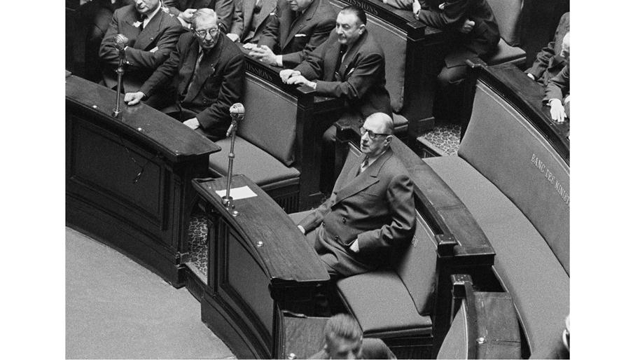 De Gaulle devant le Comité consultatif constitutionnel, 8 août 1958