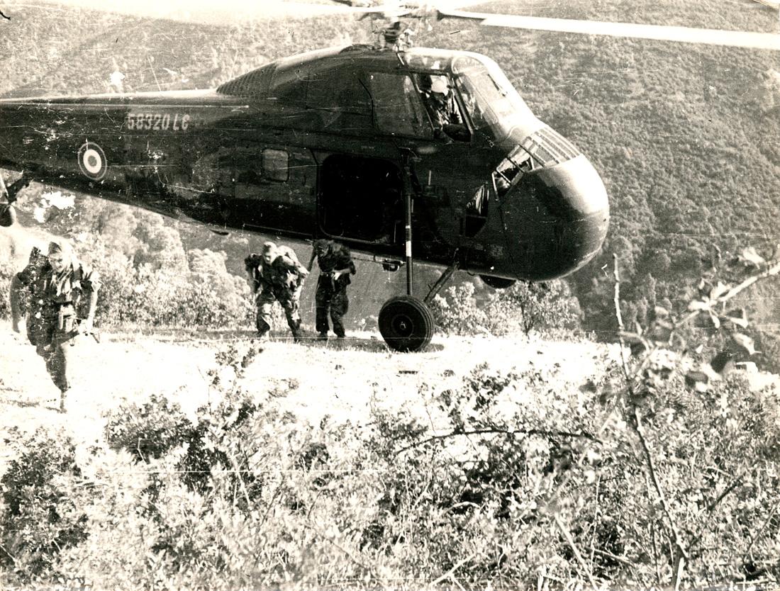Le contingent français en opérations en Algérie