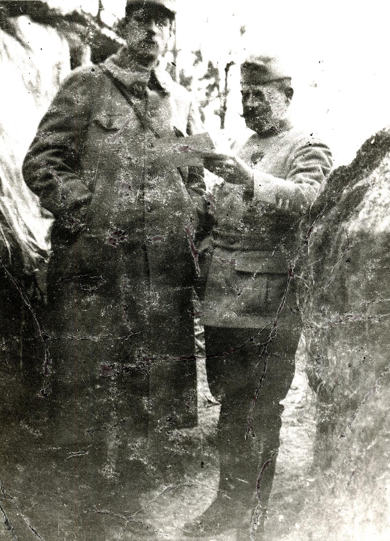 capitaine de Gaulle tranchée