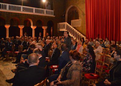 Conférence à l'ambassade de Roumanie