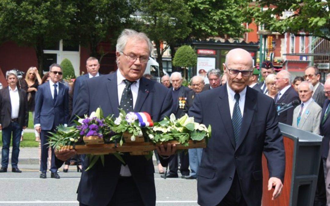 Commémoration de l'Appel du 18 Juin à Lourdes
