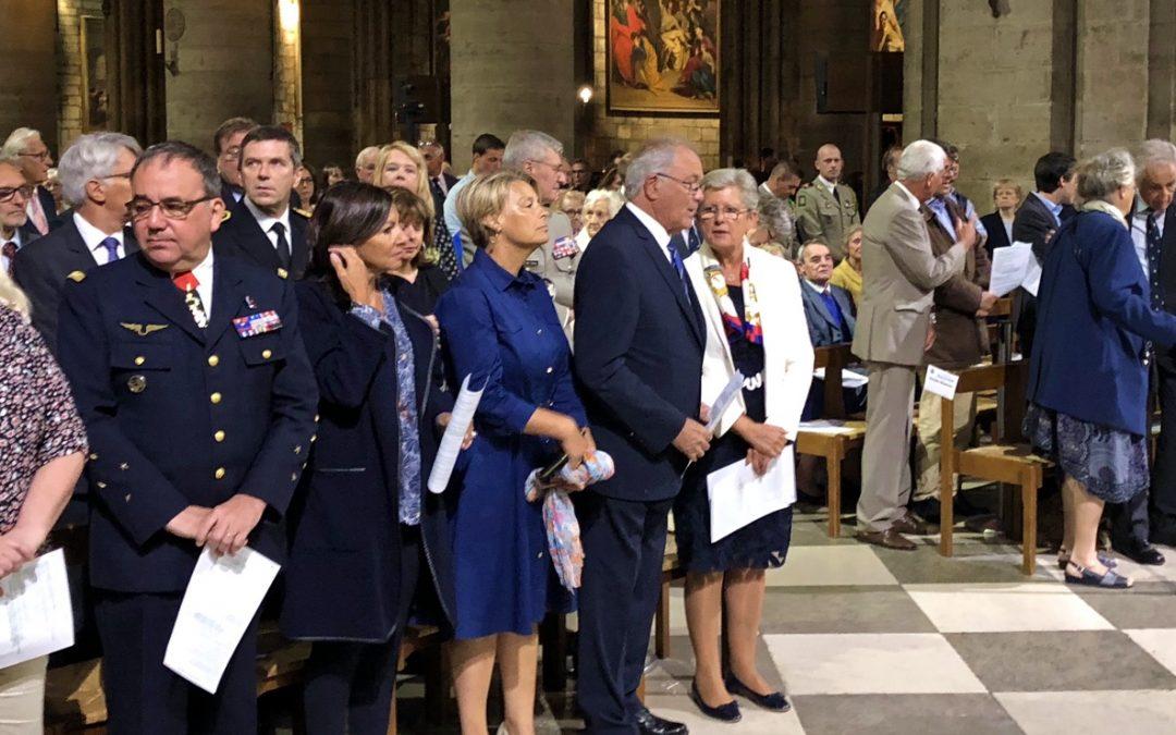 Messe pour la Libération de Paris célébrée en la Cathédrale Notre-Dame de Paris