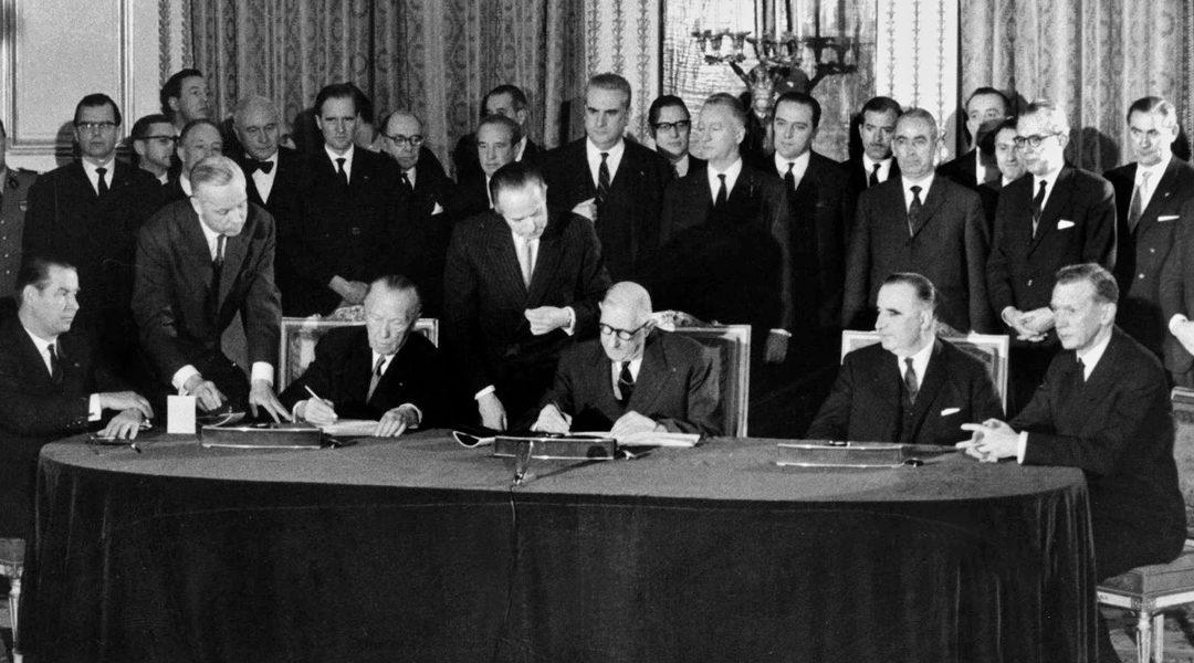 Du Traité de l'Élysée au Traité d'Aix-la-Chapelle