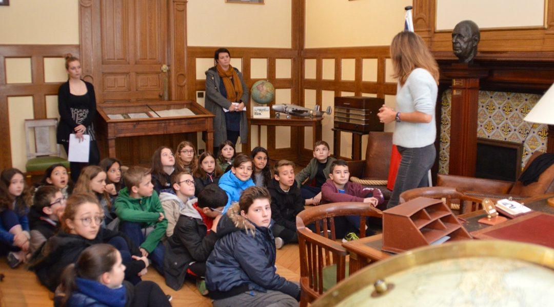 Visite d'élèves de Charenton-le-Pont