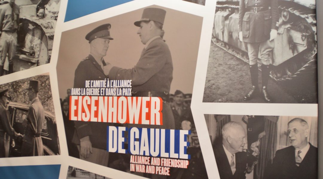 Inauguration de l'exposition « Eisenhower – De Gaulle : de l'Amitié à l'Alliance dans la Guerre et dans la Paix »