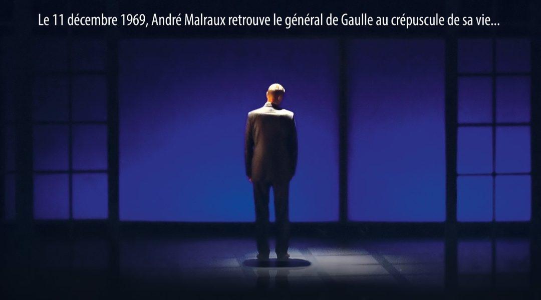 Reprise de la pièce de théâtre «Le Crépuscule», soutenue par la Fondation Charles de Gaulle