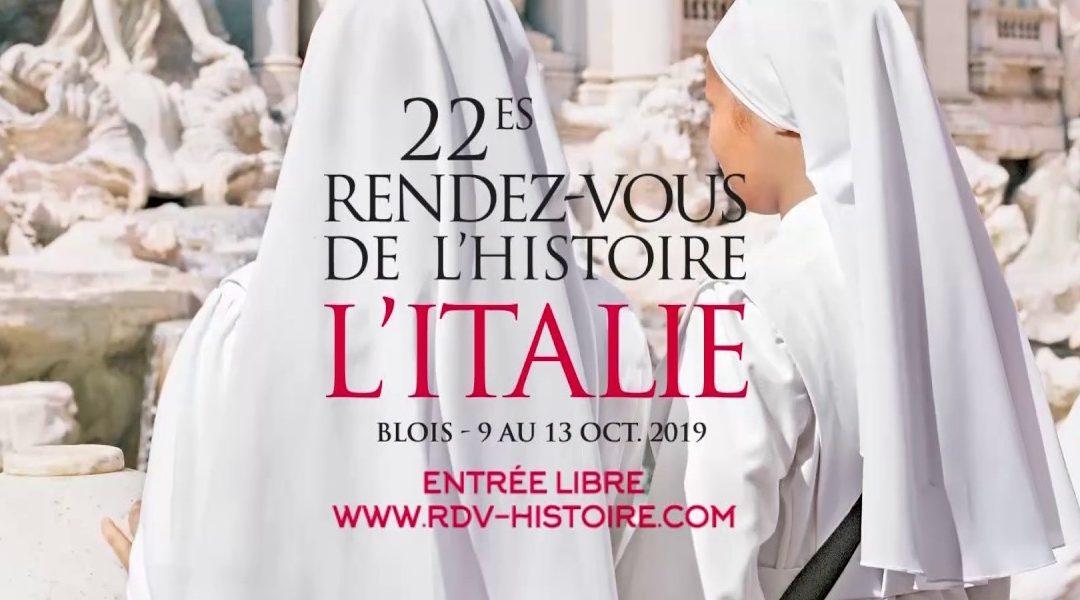 Rendez-vous de l'Histoire de Blois 2019