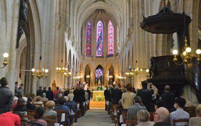 Messe célébrée pour le 76e anniversaire de la Libération de Paris