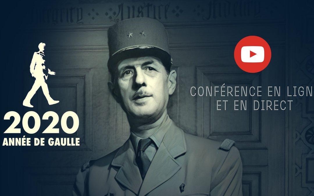 Conférence en ligne n°2 – De Gaulle : L'homme du siècle