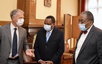 Visite du Ministre des Affaires étrangères de la République du Congo à la Fondation Charles de Gaulle