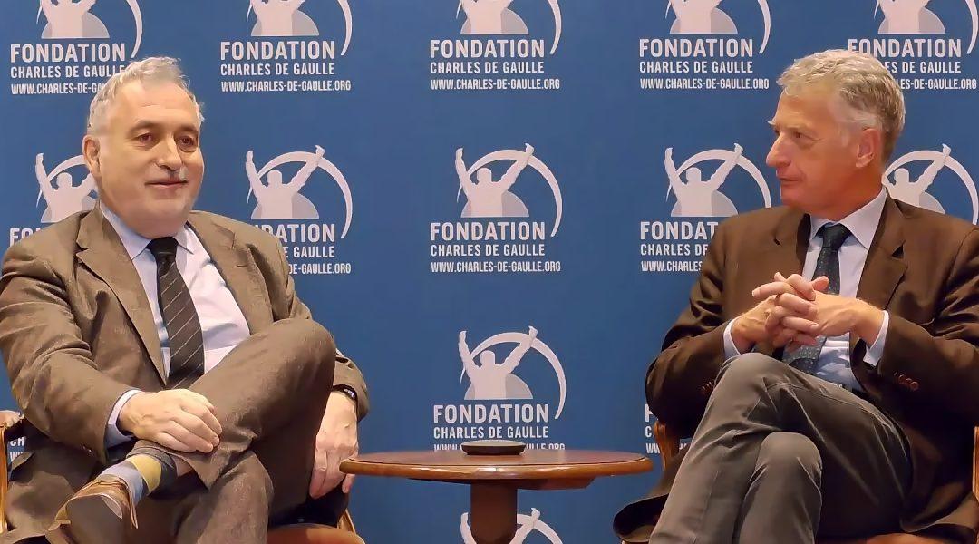 Conférence en ligne «Pourquoi commémorer de Gaulle ?»
