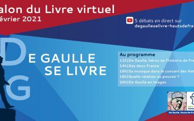 Salon du livre virtuel «De Gaulle se livre»