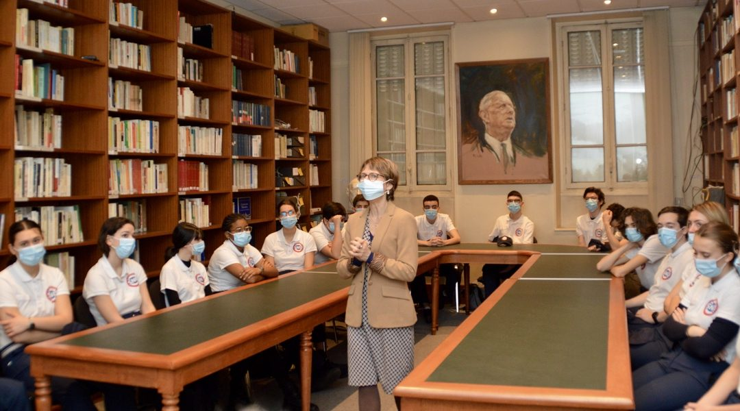 La Fondation Charles de Gaulle accueille le SNU en ses murs