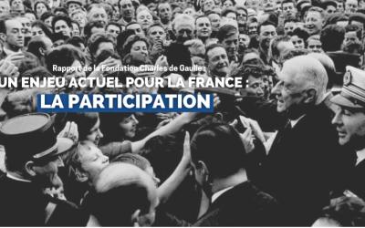 Synthèse du rapport 2021 « Un enjeu actuel pour la France : la Participation »