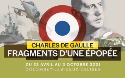 Vernissage de l'exposition « Charles de Gaulle, fragments d'une épopée » à Colombey-les-Deux-Églises
