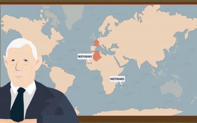 Nouvelle vidéo pédagogique Canopé – Les années de Gaulle : «La France face à la décolonisation»