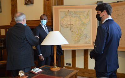 Visite du ministre ivoirien Mamadou Touré