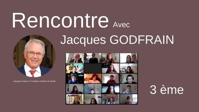 Intervention de Jacques Godfrain pour le Lycée français de Sofia