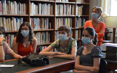 Concours d'éloquence « De Gaulle : Un Homme engagé » avec les élèves du lycée Jean de La Fontaine