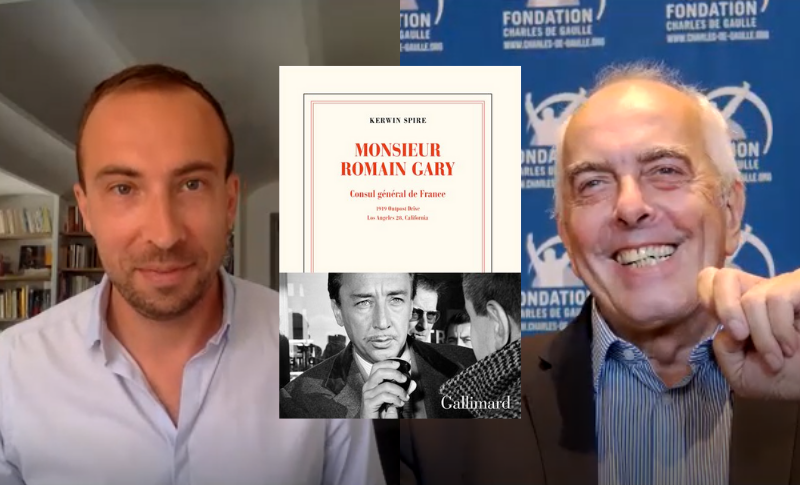 Conférence en ligne — « Monsieur Romain Gary. Consul général de France » avec Kerwin Spire